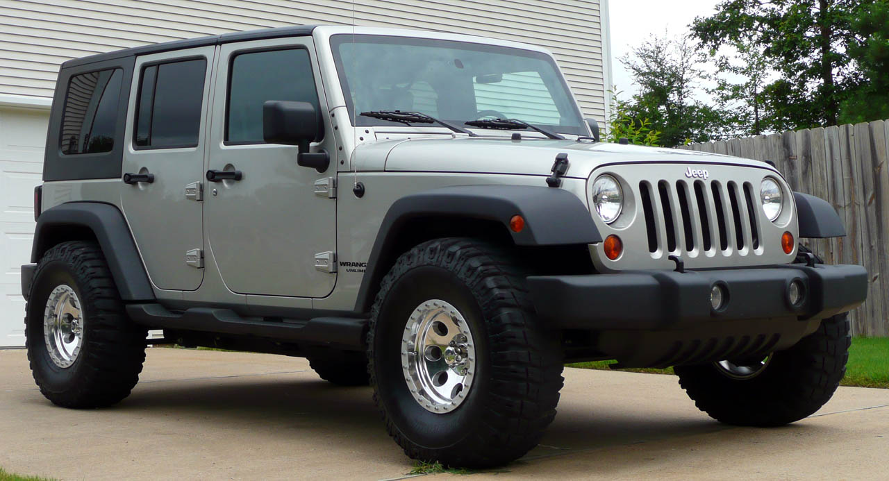 Lifted Jeep Wrangler >> 35's on non lifted Lt. Graystone Unlimited X 4x4 - JK ...